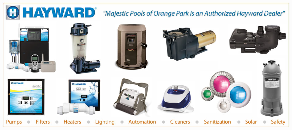 The best swimming pool pumps, lights, heaters, solar, cheap prices and discount equipment in Orange Park FL and Jacksonville Florida.